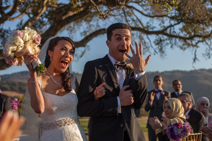 california golf course wedding