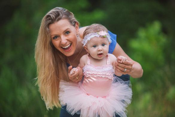 mom and baby pink tutu