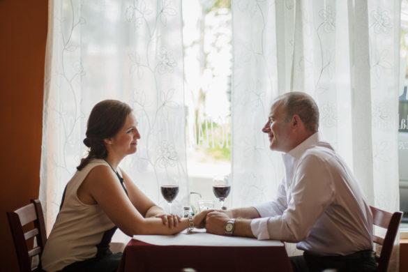 Dolce Ristorante charlotte couple