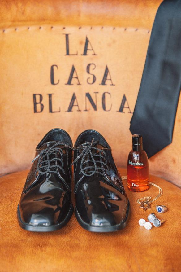 grooms shoes details la casa blanca