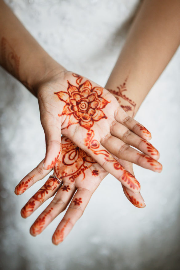 Indian wedding Mehndi henna tattoo
