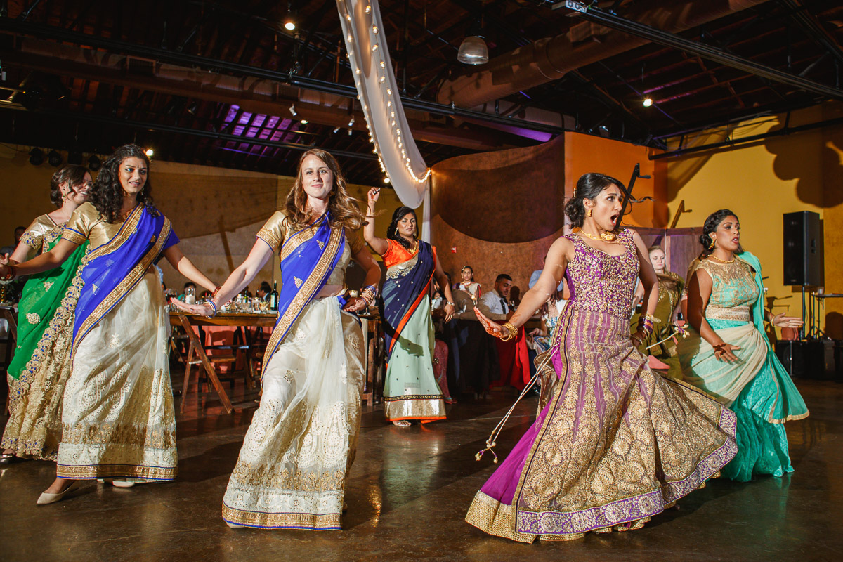 Indian wedding dance off